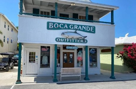 Boca Grande has many charming specialty shops, locally owned, for clothing, and gifts.