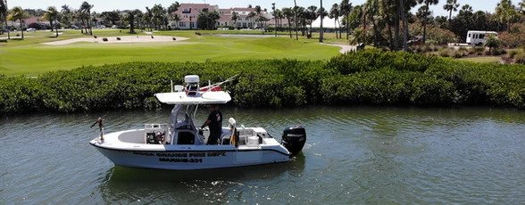 Boca Grande Fire Dept. Boat